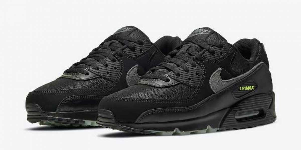 New Nike Air Max 90 Spider Web to Release before Halloween