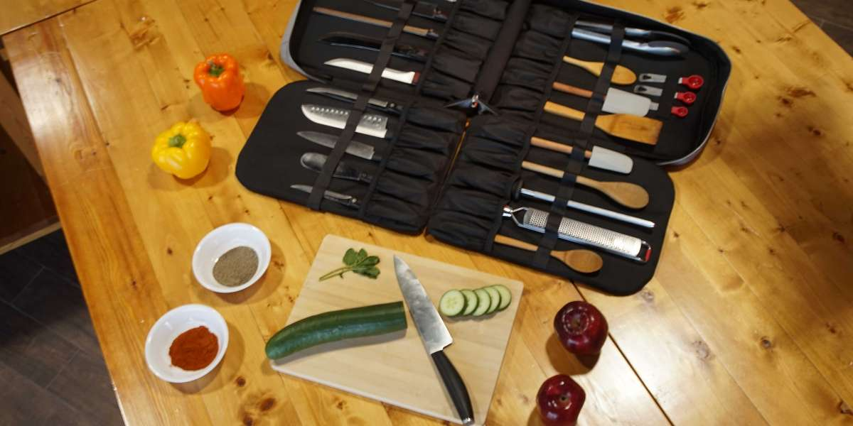Shop the best quality Knife Roll at Chef Sac website.