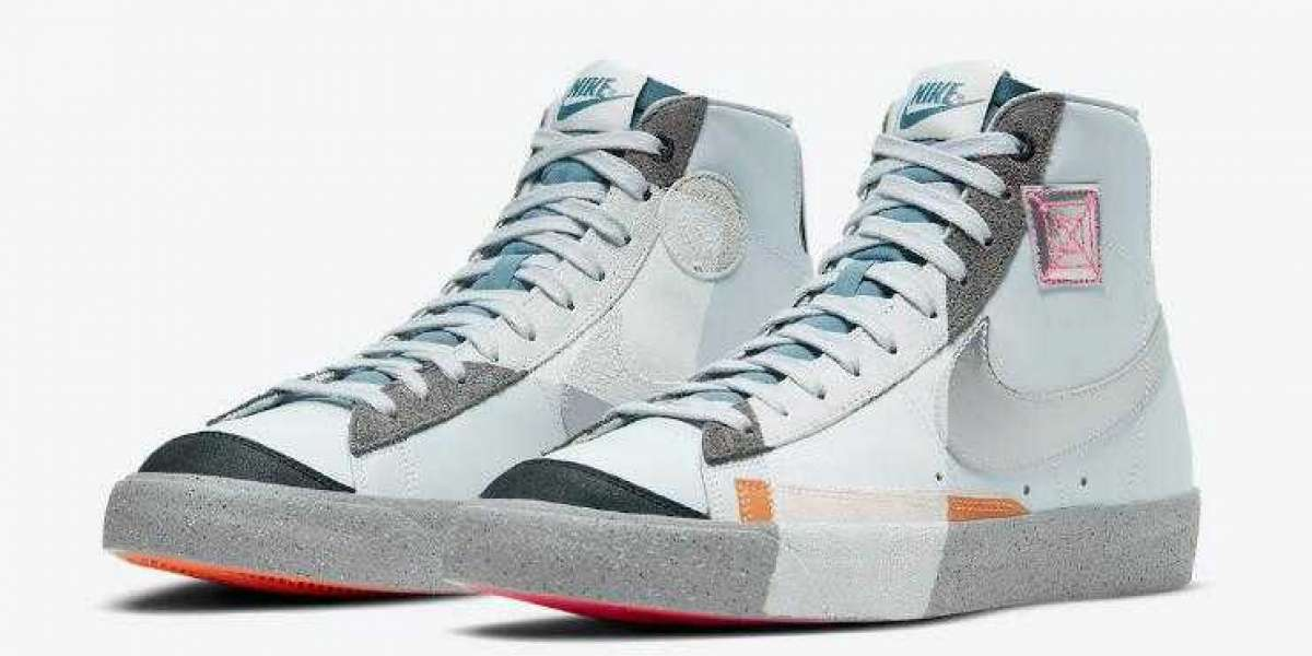 DC9170-001 Nike Blazer Mid Light Blue to Release this Fall Season