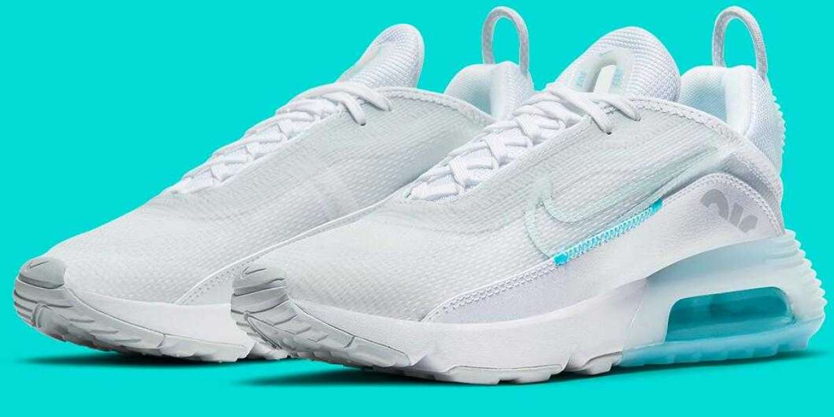 The Angelic Nike Air Max 2090 Release with Aqua Blue