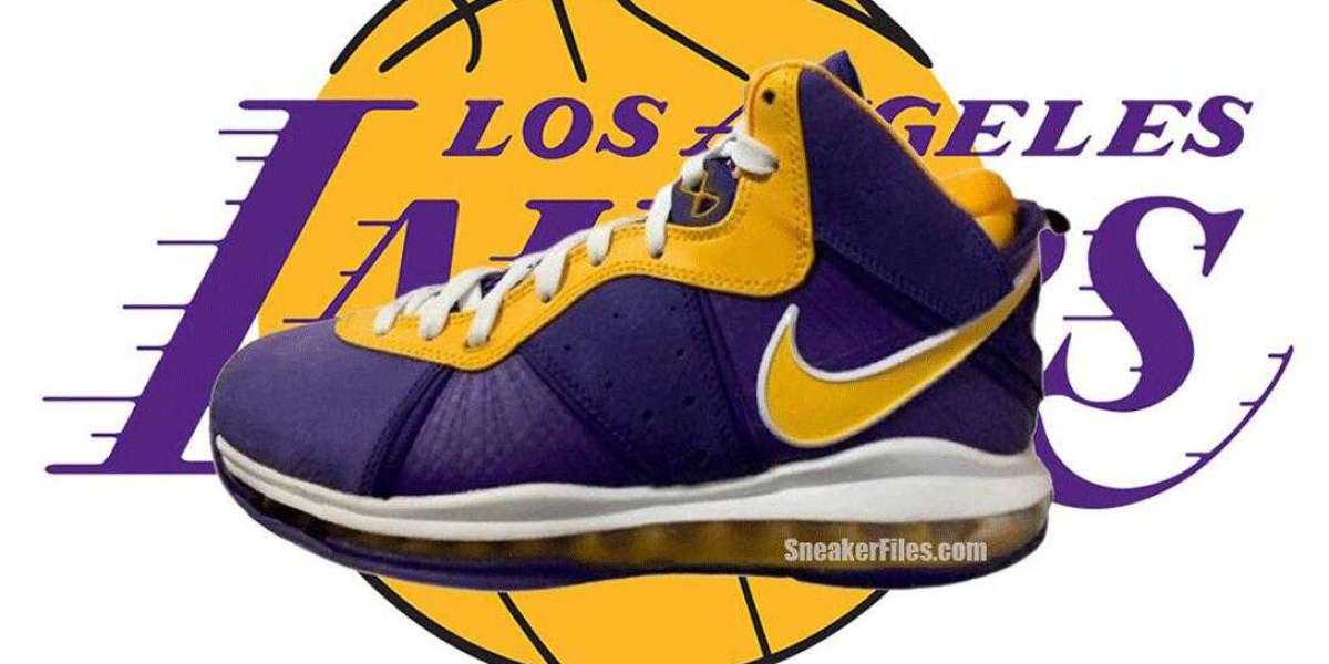Nike LeBron 8 Laker Court Purple University Gold Releasing Soon