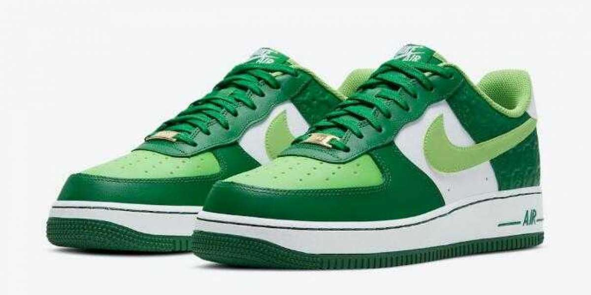 Nike Air Force 1 Low's St. Patty's Day to Arrive on March 2021