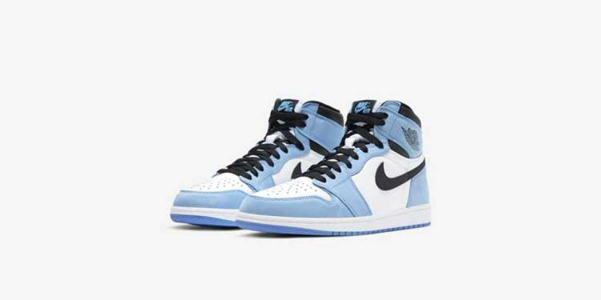 """How did you find these Nike Air Jordan 1 """"University Blue"""" 555088-134 shoes?"""
