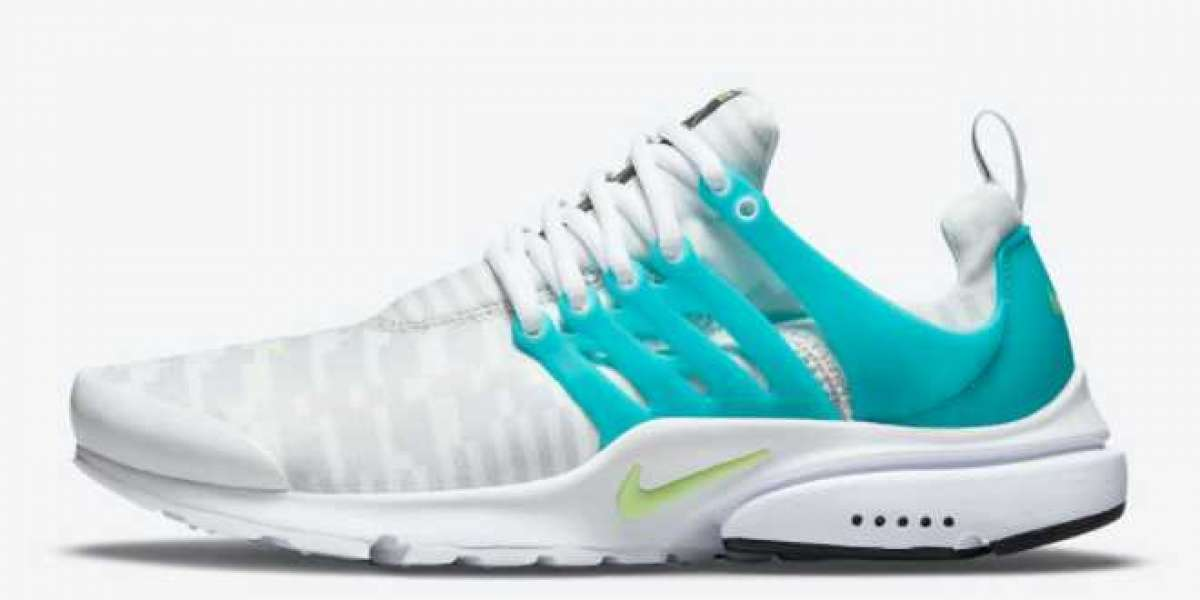 """Classic shoes Nike Air Presto """"Lightning Bolt"""" DJ6899-100 ushered in a new color sale! Perfect for spring and"""