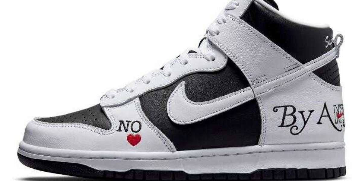 Supreme x Nike SB Dunk High By Any Means Releasing Black White Colorway